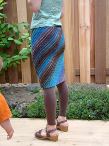 "MamaIke's ""My first skirt"""