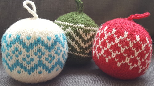 Knitted Christmas Ornaments: A Kit | Yarns Untangled